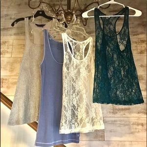 TANK BUNDLE A.E.OUTFITTERS/MYLEYCURUS/CHARL RUSSE